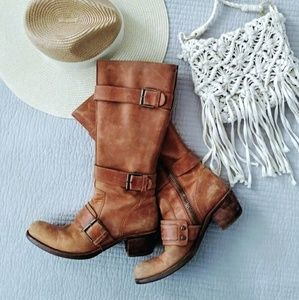 Cole Haan g series cowgirl boots 7.5B